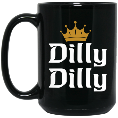 image 1 490x490px Dilly Dilly Crown Coffee Mug