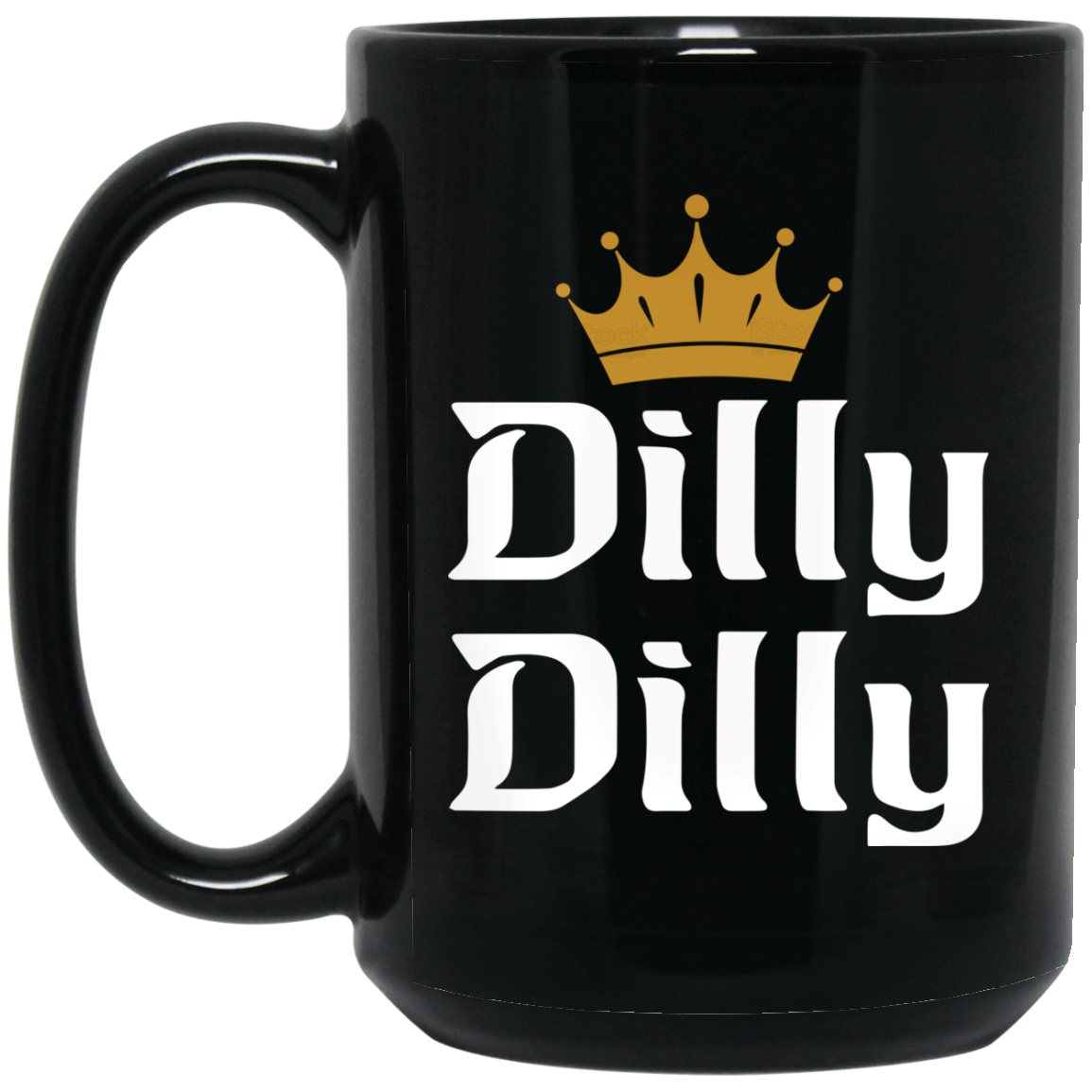 image 1px Dilly Dilly Crown Coffee Mug