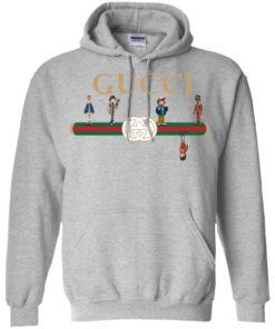 image 108 247x296px Stranger Things Upside Down Gucci T Shirts, Tank Top, Sweatshirt