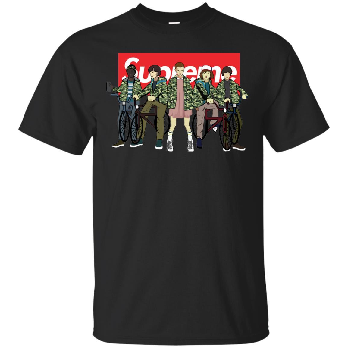 image 27px Stranger Things Supreme All Kids T Shirts, Sweatshirt, Tank Top
