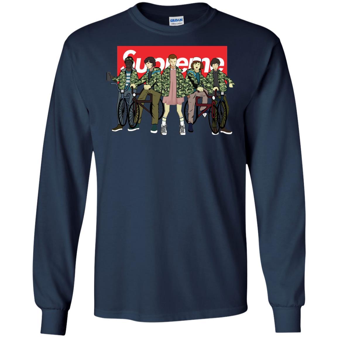 image 32px Stranger Things Supreme All Kids T Shirts, Sweatshirt, Tank Top
