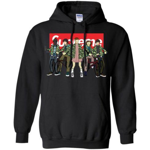 image 33 490x490px Stranger Things Supreme All Kids T Shirts, Sweatshirt, Tank Top