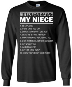 image 51 247x296px Rules For Dating My Niece T Shirts, Sweatshirt, Tank Top