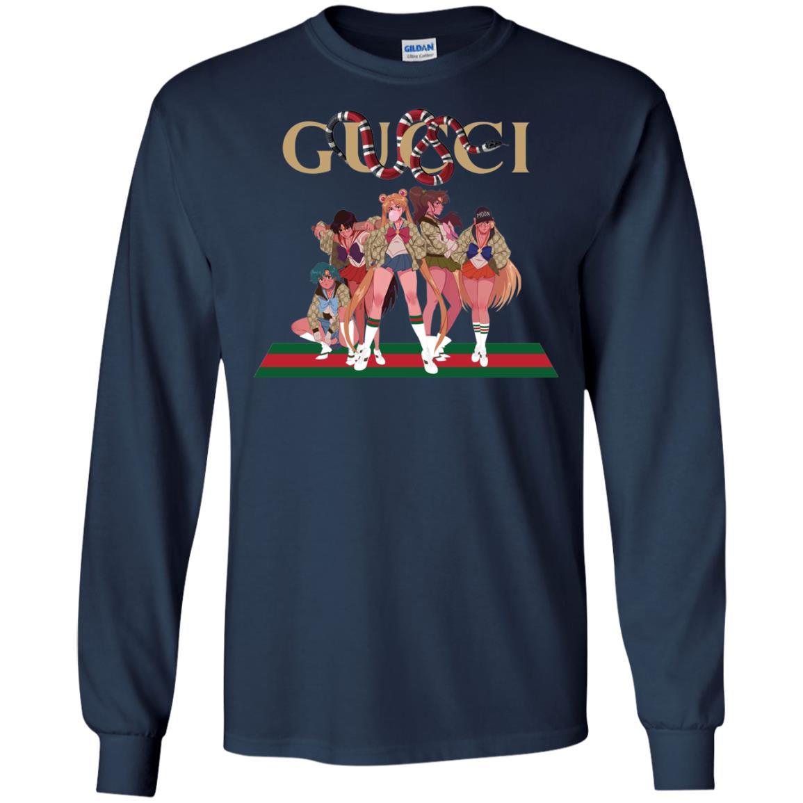 image 112px Gucci Sailor Moon Gang Mashup T Shirts, Hoodies, Tank Top