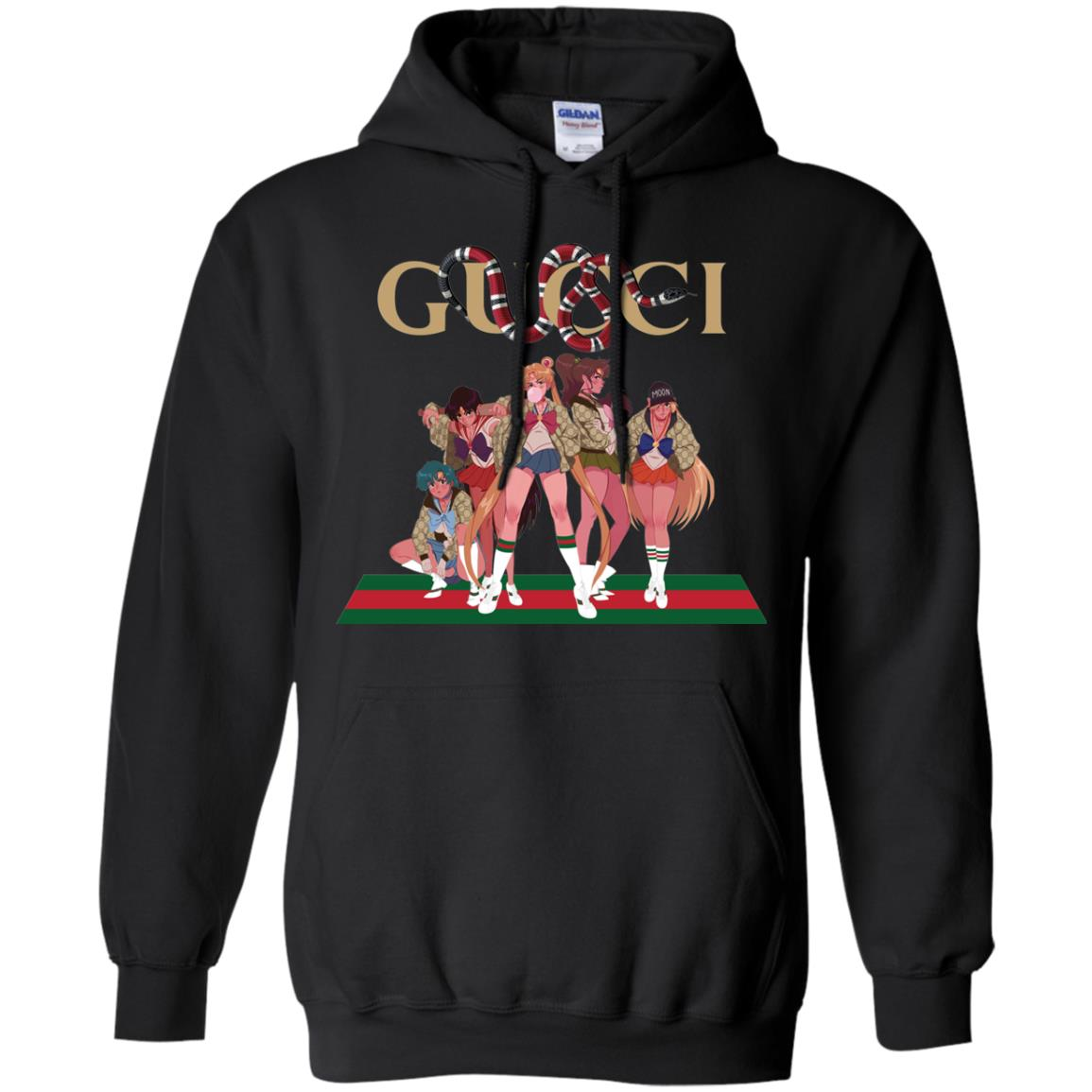 Gucci Sailor Moon Gang Mashup T Shirts Hoodies Tank Top