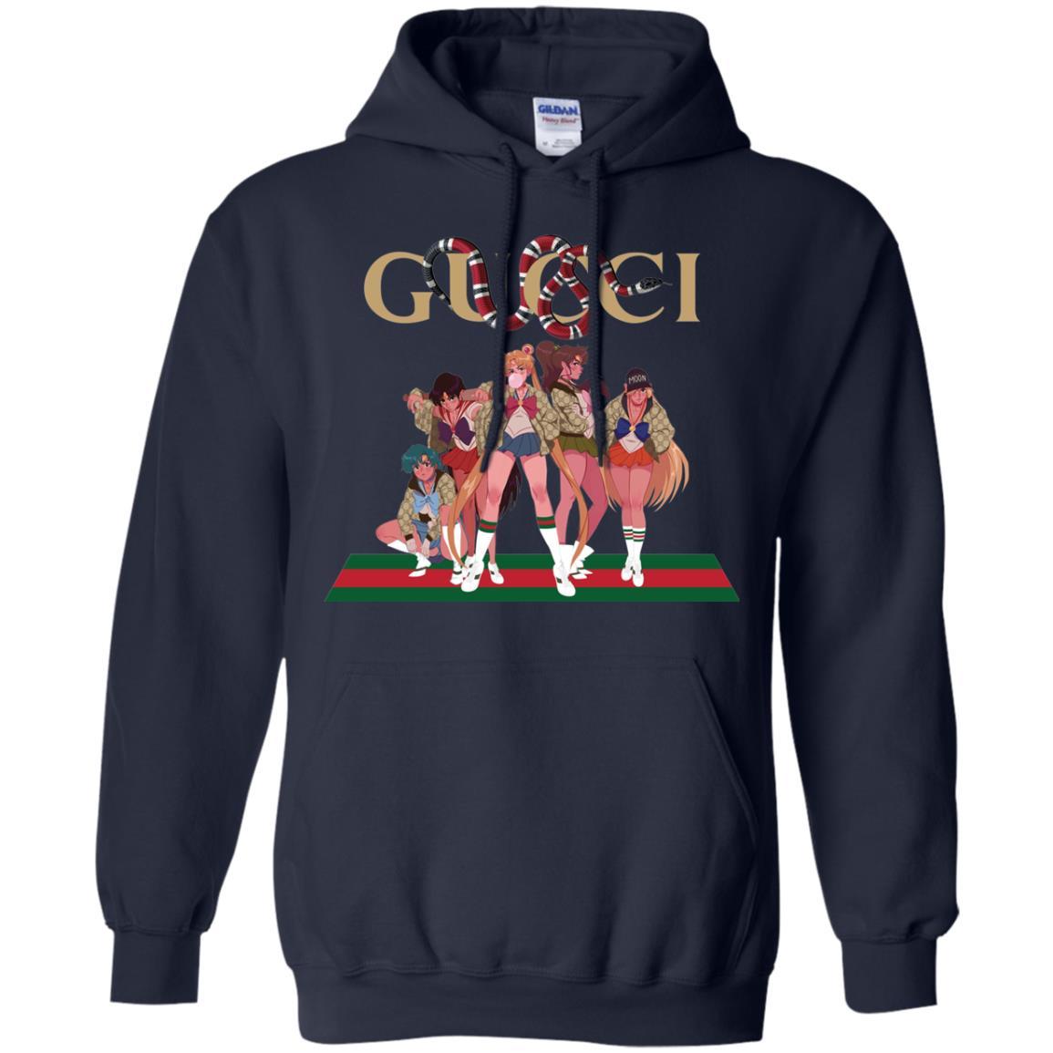 image 114px Gucci Sailor Moon Gang Mashup T Shirts, Hoodies, Tank Top