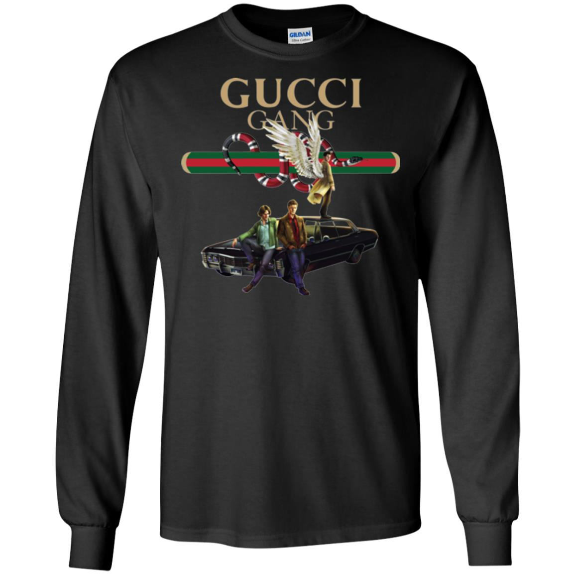Gucci Gang Supernatural T Shirts Hoodies Tank Top