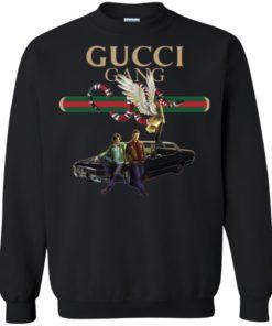 image 139 247x296px Gucci Gang Supernatural T Shirts, Hoodies, Tank Top