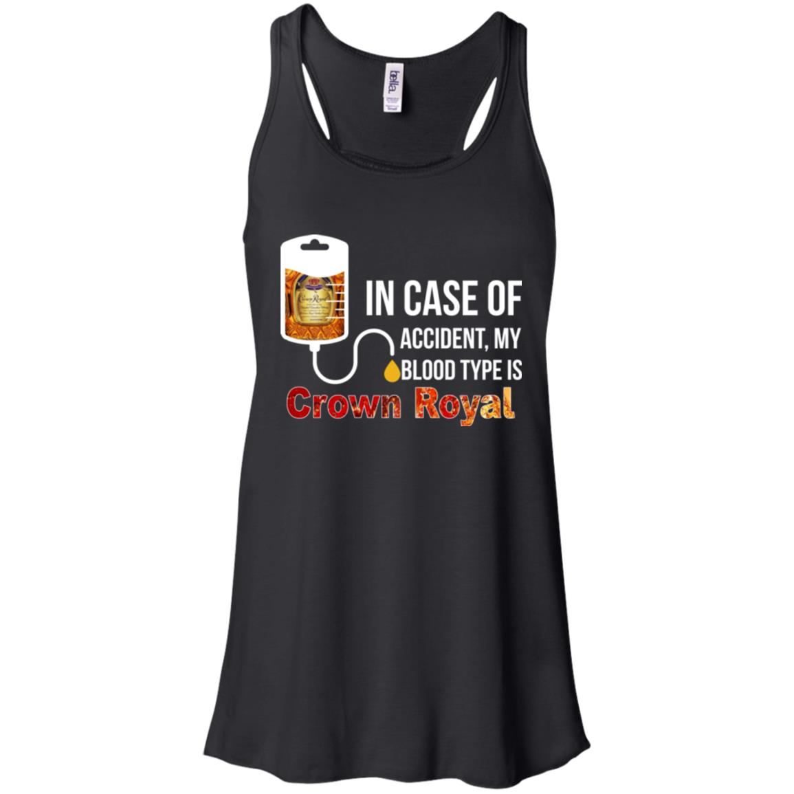 image 157px In Case Of Accident My Blood Type Is Crown Royal T Shirts, Hoodies