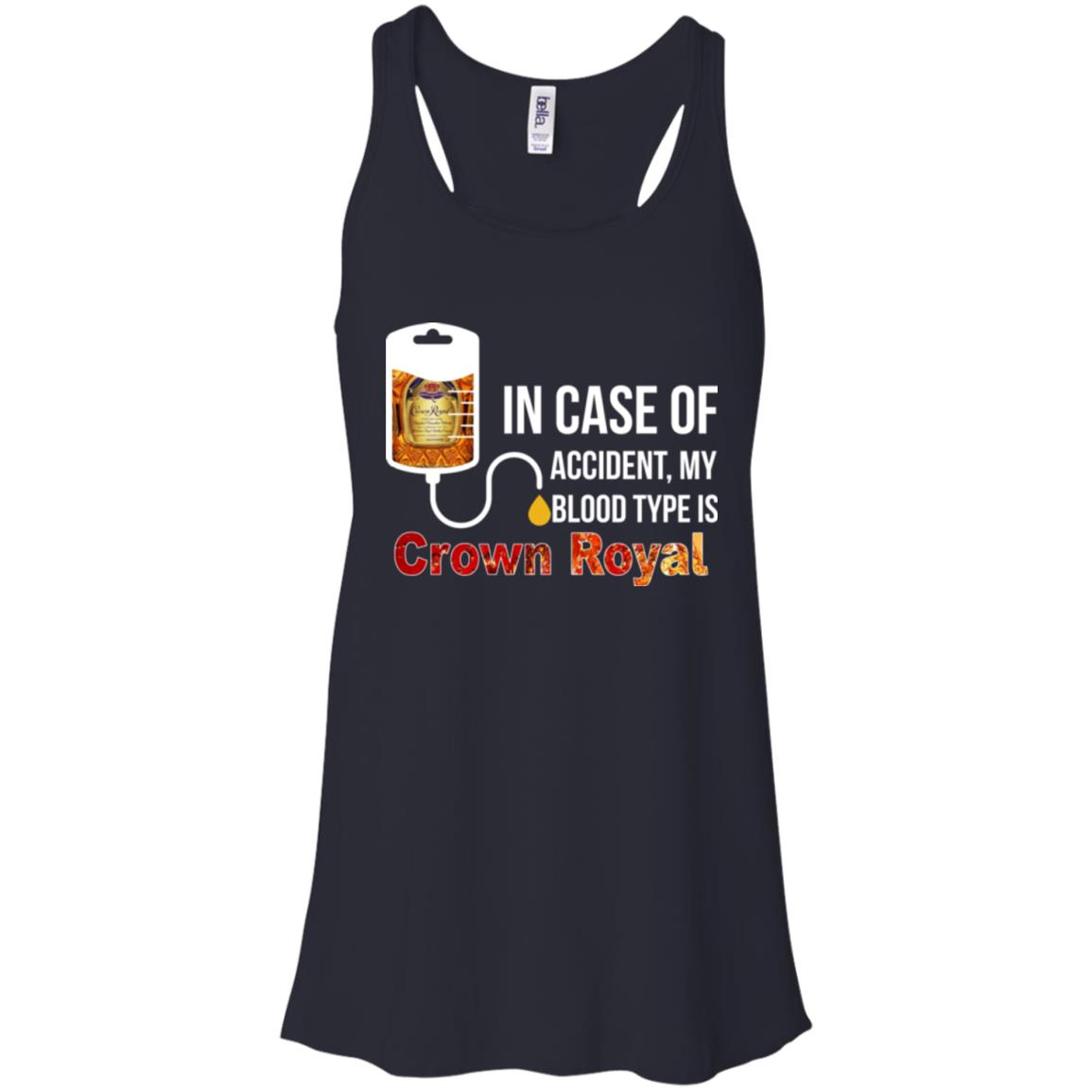 image 158px In Case Of Accident My Blood Type Is Crown Royal T Shirts, Hoodies