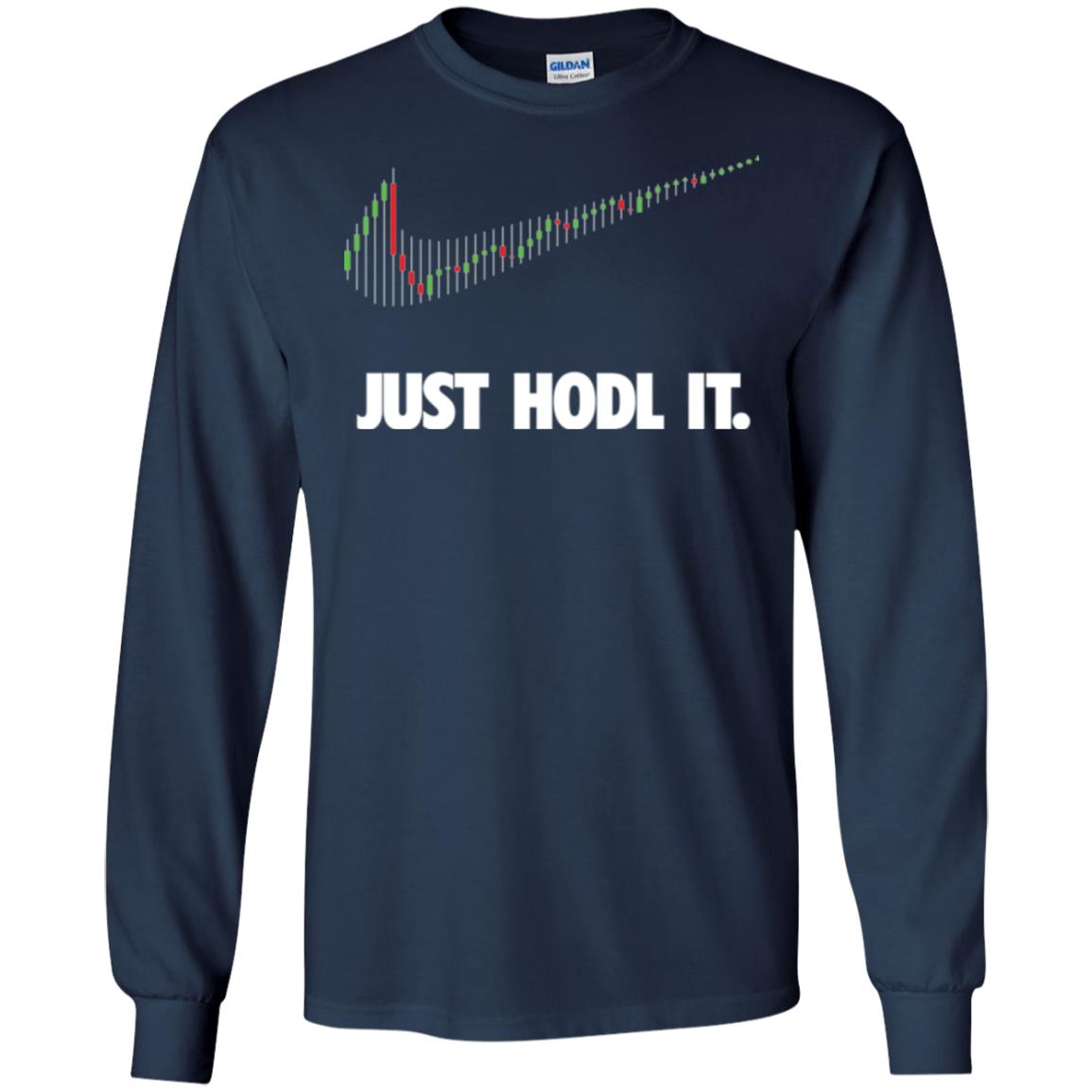 image 184px Cryptocurrency Just Hodl It T Shirts, Hoodies, Tank