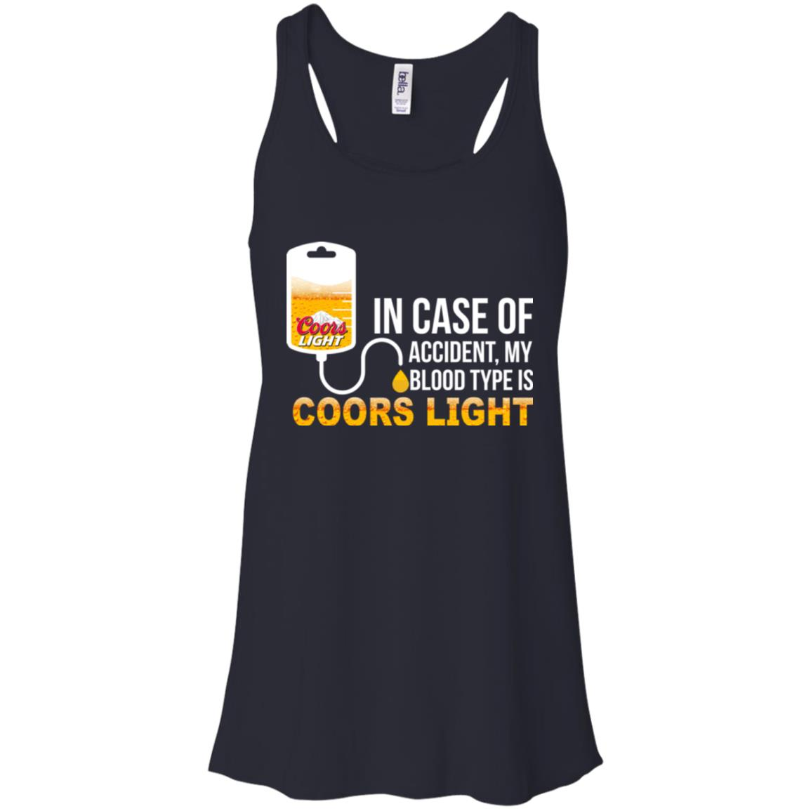 image 194px In Case Of Accident My Blood Type Is Coors Light T Shirts, Hoodies