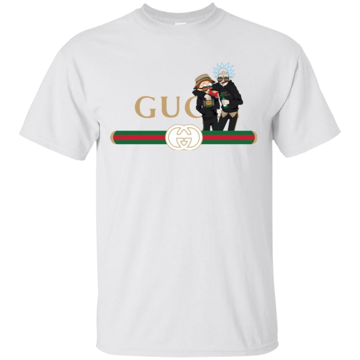 image 215px Rick and Morty Gucci Mashup T shirts, Hoodies, Tank
