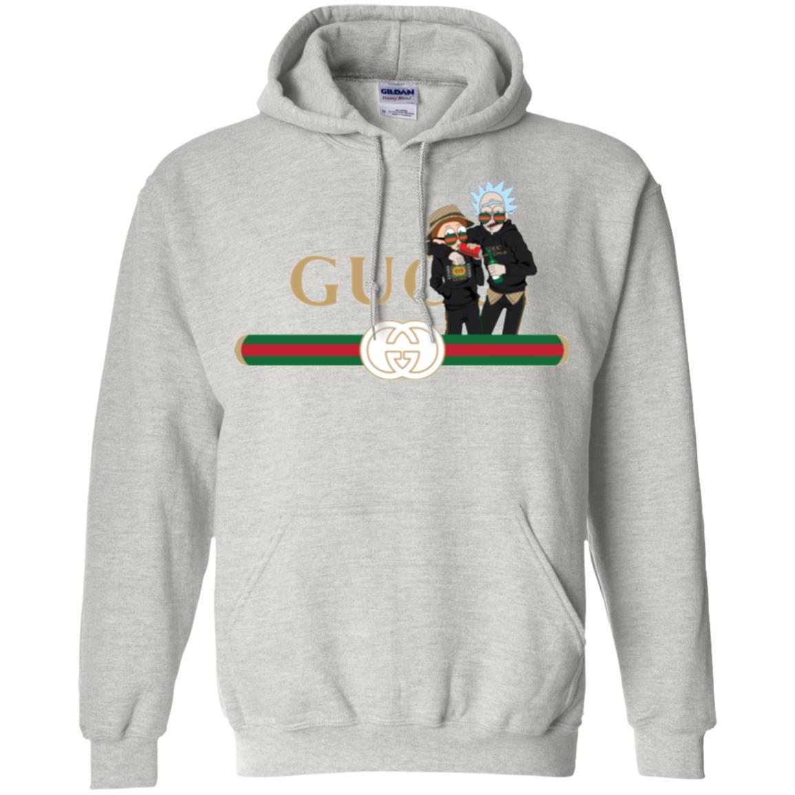 image 219px Rick and Morty Gucci Mashup T shirts, Hoodies, Tank