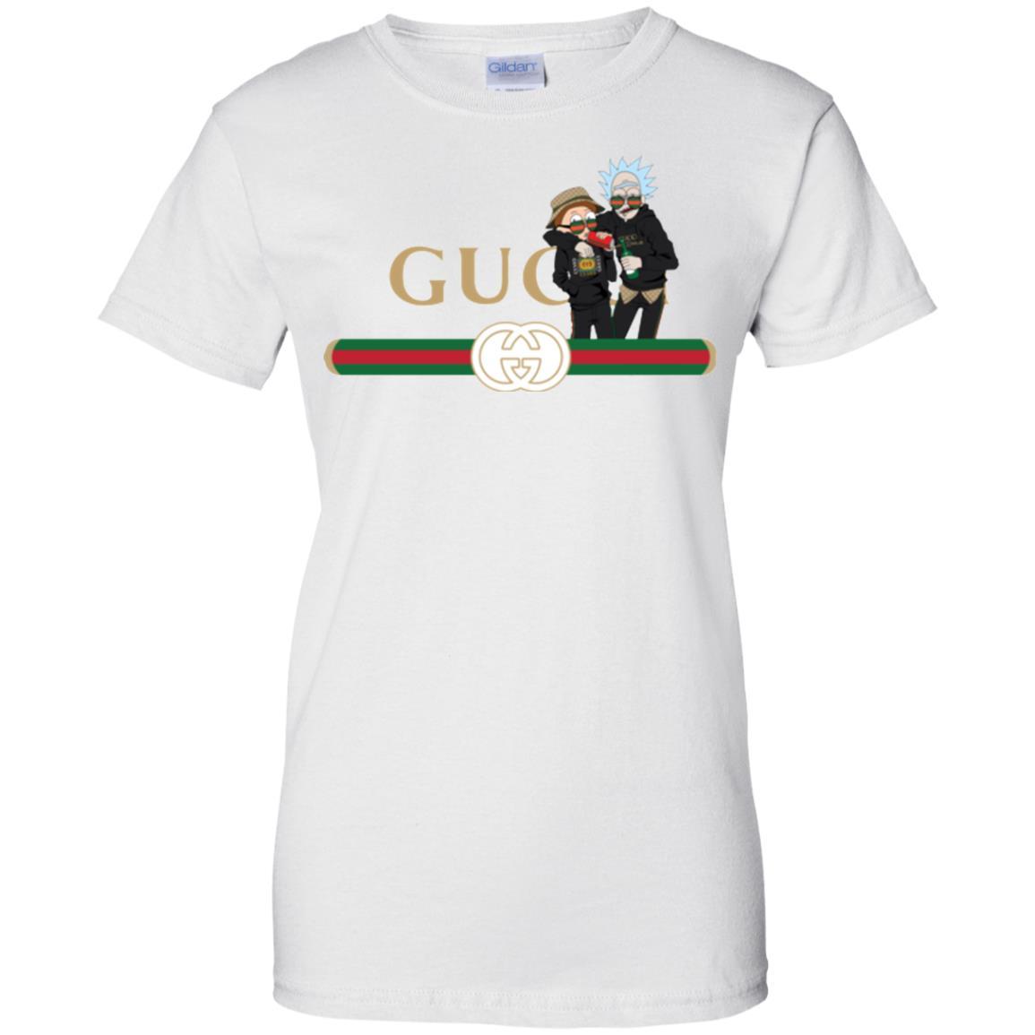 image 224px Rick and Morty Gucci Mashup T shirts, Hoodies, Tank