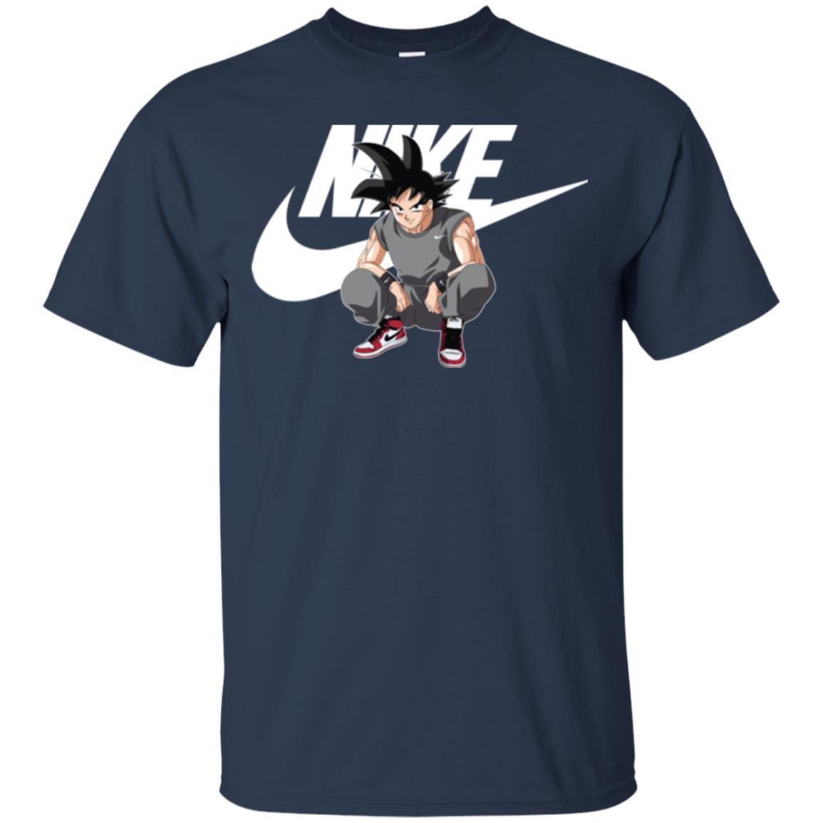 image 249px Songoku Nike Mashup T Shirt, Hoodies, Tank Top