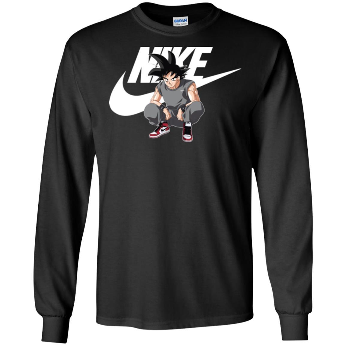 image 252px Songoku Nike Mashup T Shirt, Hoodies, Tank Top