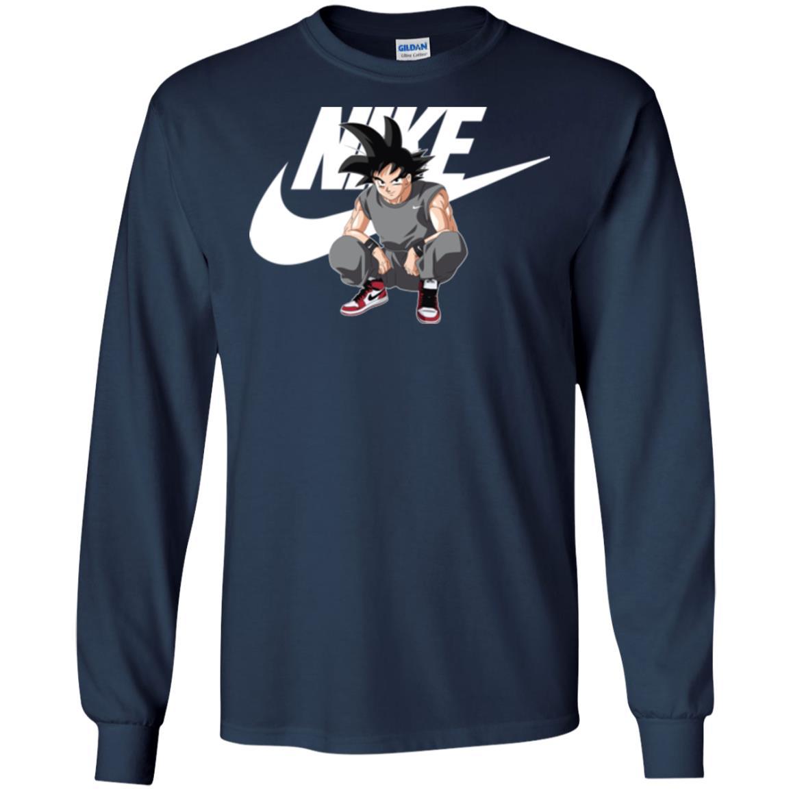 image 253px Songoku Nike Mashup T Shirt, Hoodies, Tank Top