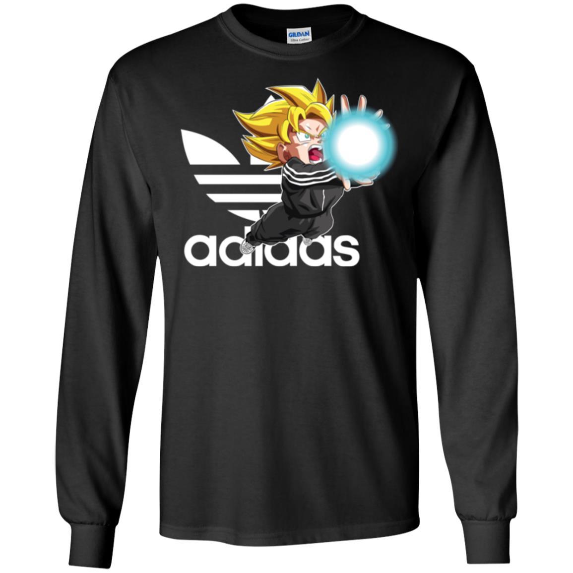 image 264px Goku Adidas Mashup T Shirt, Hoodies, Tank Top Available