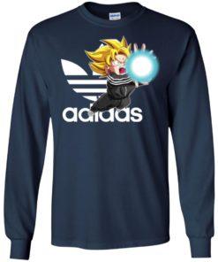 image 265 247x296px Goku Adidas Mashup T Shirt, Hoodies, Tank Top Available