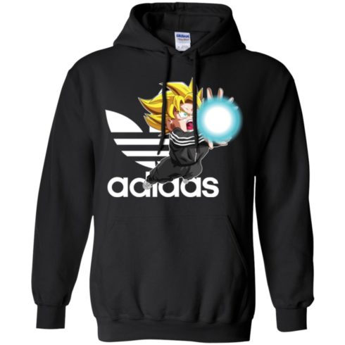 image 266 490x490px Goku Adidas Mashup T Shirt, Hoodies, Tank Top Available