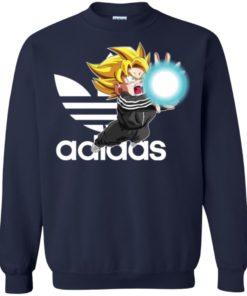 image 269 247x296px Goku Adidas Mashup T Shirt, Hoodies, Tank Top Available