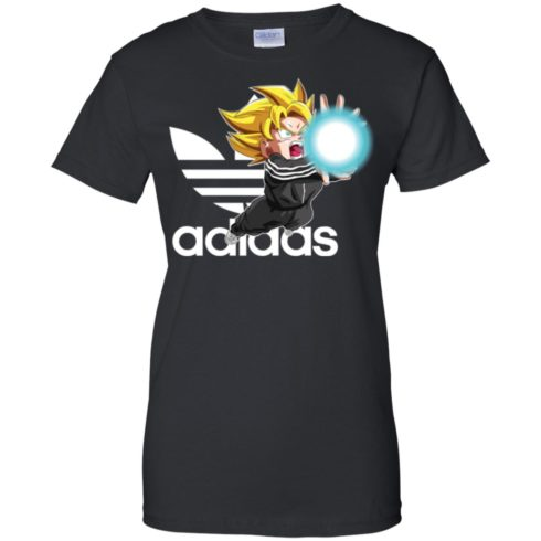 image 270 490x490px Goku Adidas Mashup T Shirt, Hoodies, Tank Top Available