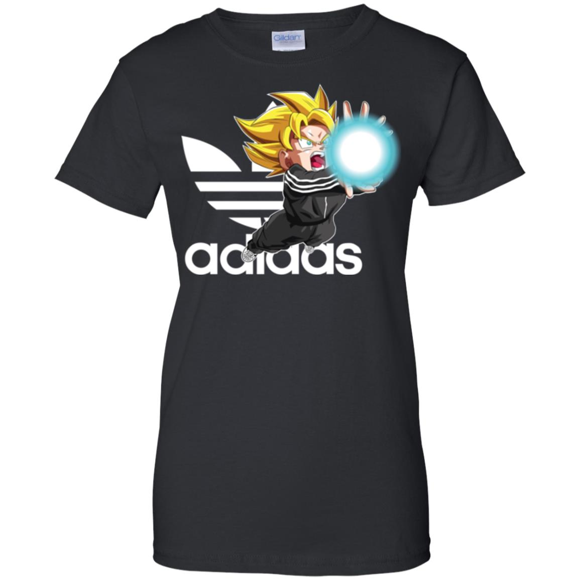image 270px Goku Adidas Mashup T Shirt, Hoodies, Tank Top Available