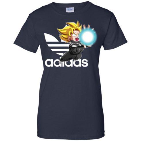image 271 490x490px Goku Adidas Mashup T Shirt, Hoodies, Tank Top Available