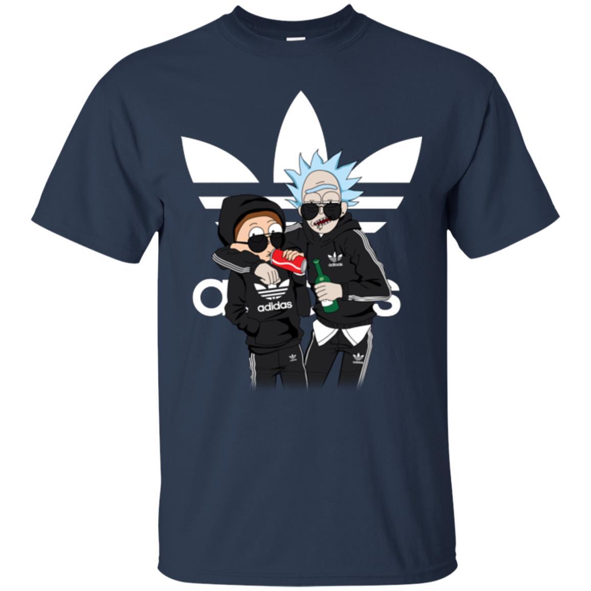 image 285px Rick and Morty Adidas Mashup T Shirt, Hoodies, Tank Top
