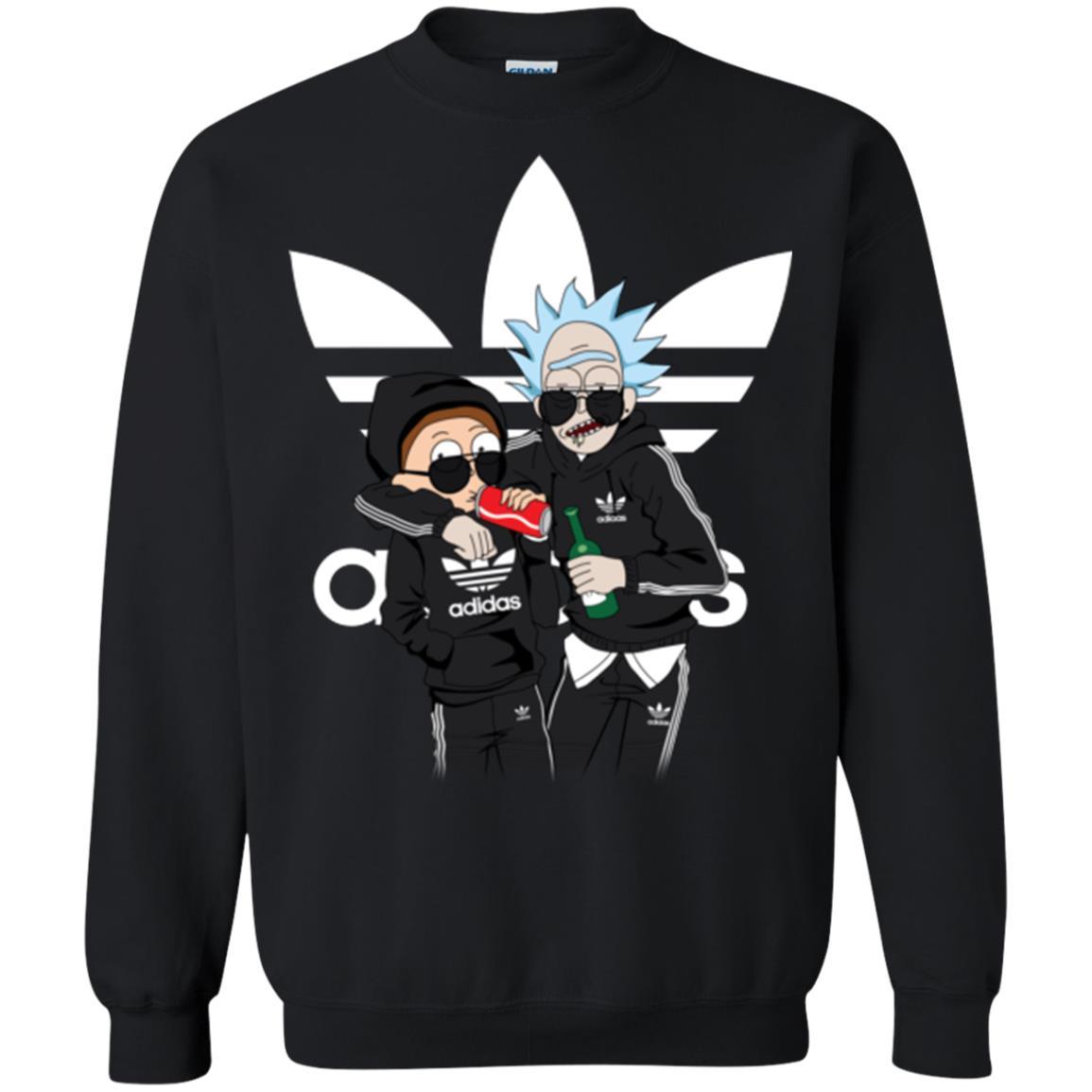 image 292px Rick and Morty Adidas Mashup T Shirt, Hoodies, Tank Top