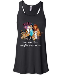 image 50 247x296px Disney shirt: And she lived happily ever after t shirt