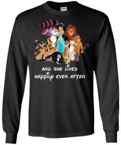 image 52 247x296px Disney shirt: And she lived happily ever after t shirt