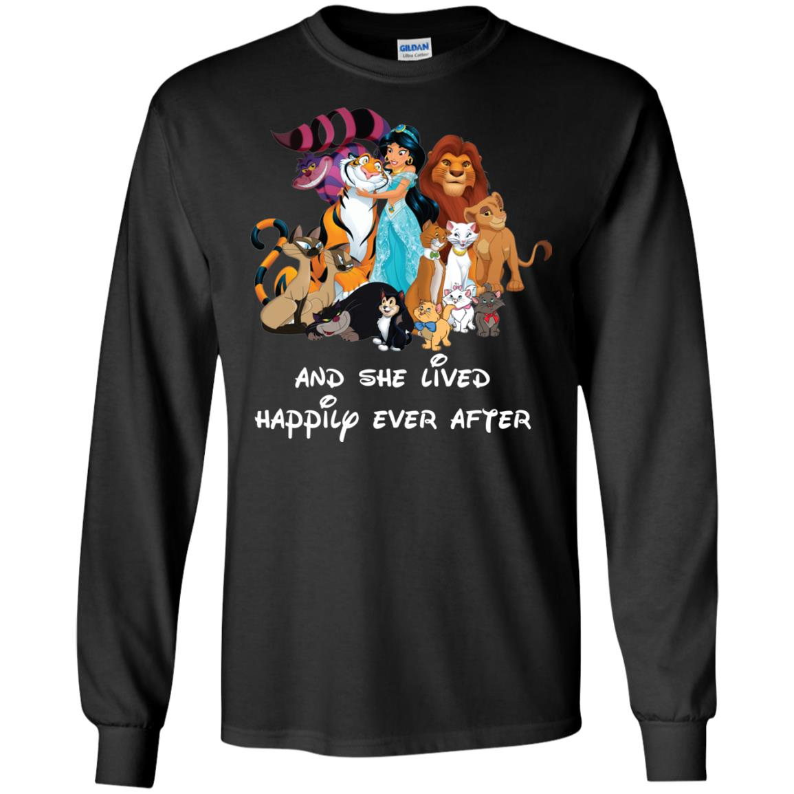 image 52px Disney shirt: And she lived happily ever after t shirt