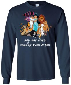 image 53 247x296px Disney shirt: And she lived happily ever after t shirt