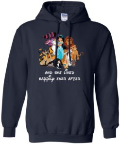 image 55 247x296px Disney shirt: And she lived happily ever after t shirt