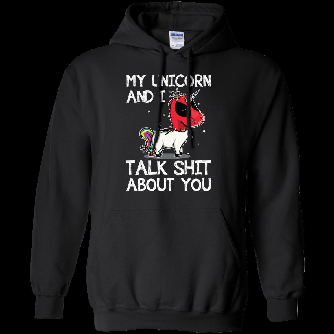 My unicorn talk shit about you