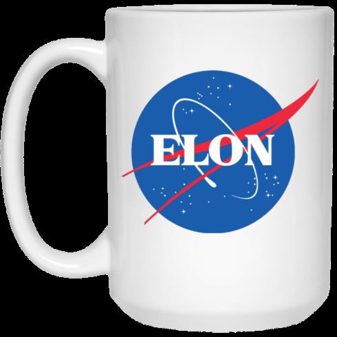 image 1 490x490px Elon Nasa parody coffee mug