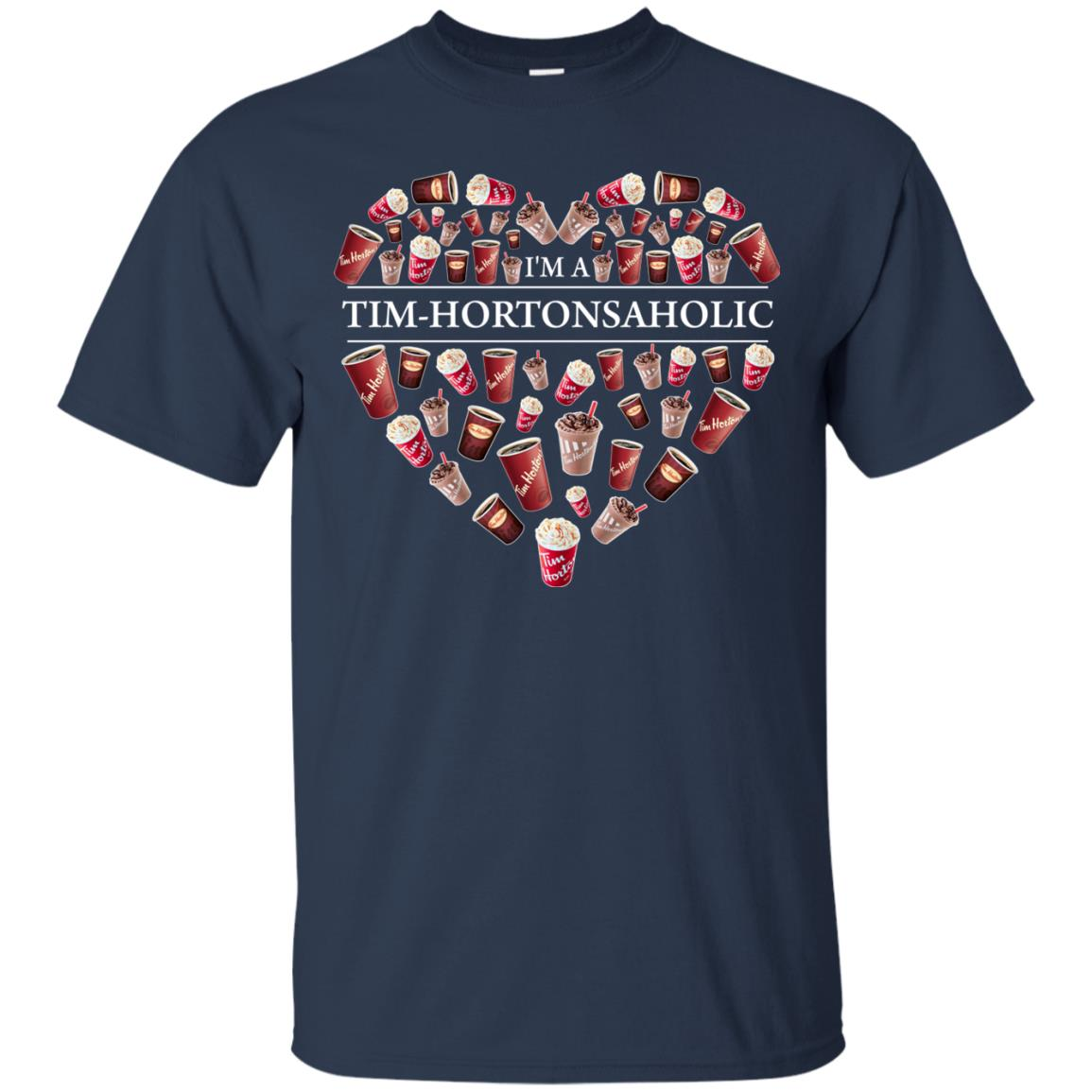 image 13px I'm A Tim Hortons Aholic Timhortonsaholic T Shirts, Hoodies, Tank