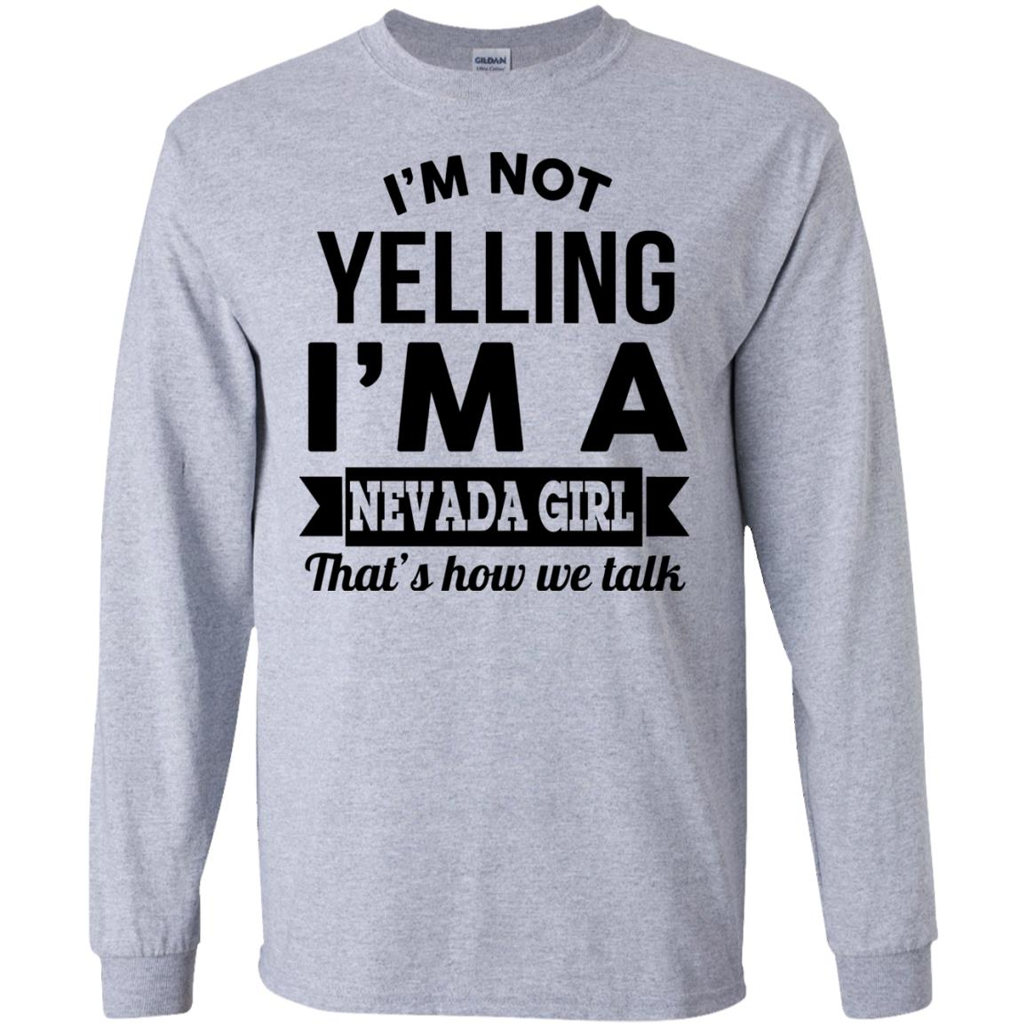 image 142px I'm Not Yelling I'm A Nevada Girl That's How We Talk T Shirts, Hoodies