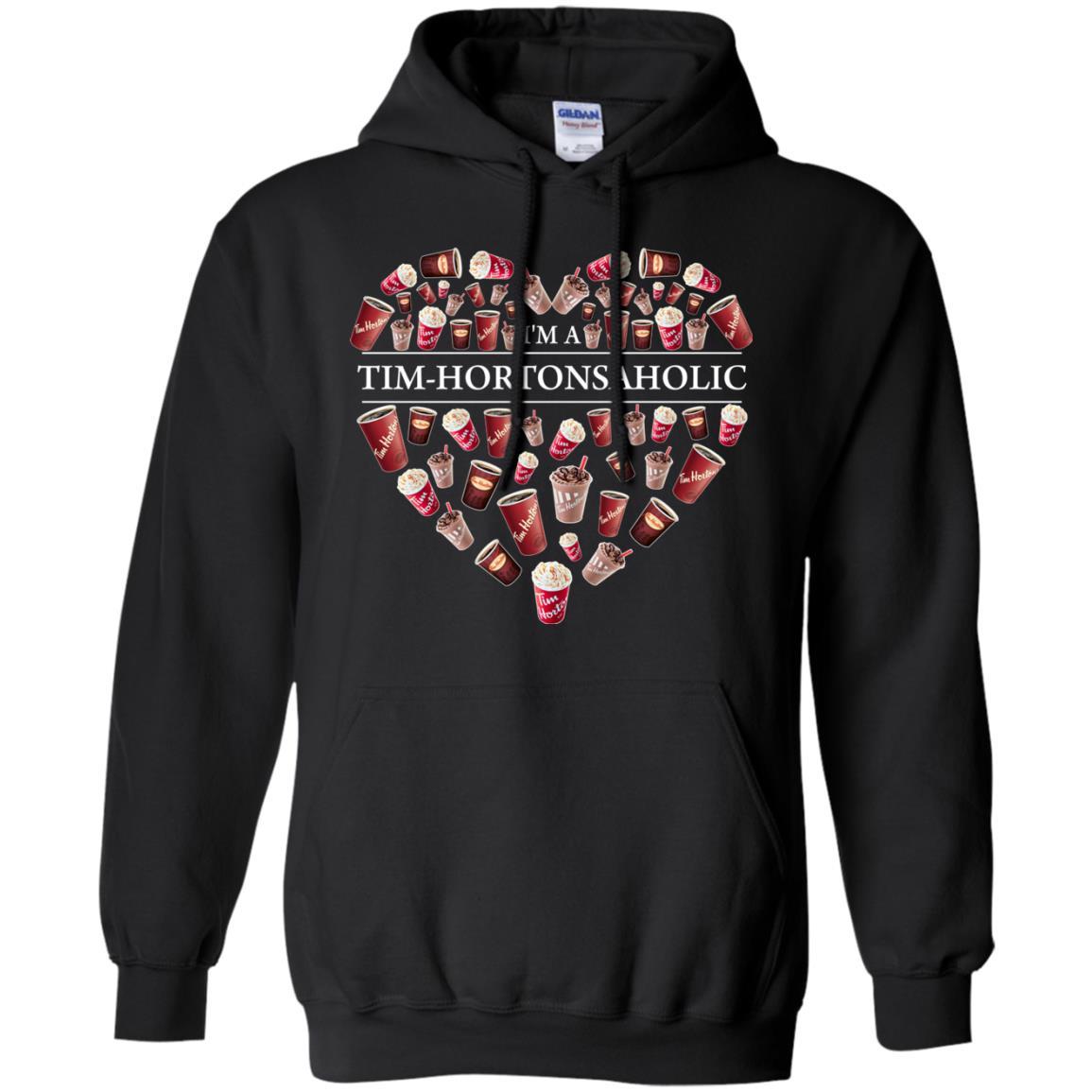 image 16px I'm A Tim Hortons Aholic Timhortonsaholic T Shirts, Hoodies, Tank