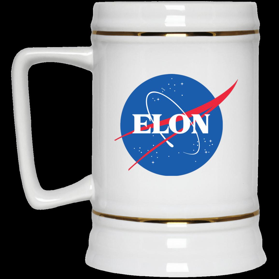 image 2px Elon Nasa parody coffee mug