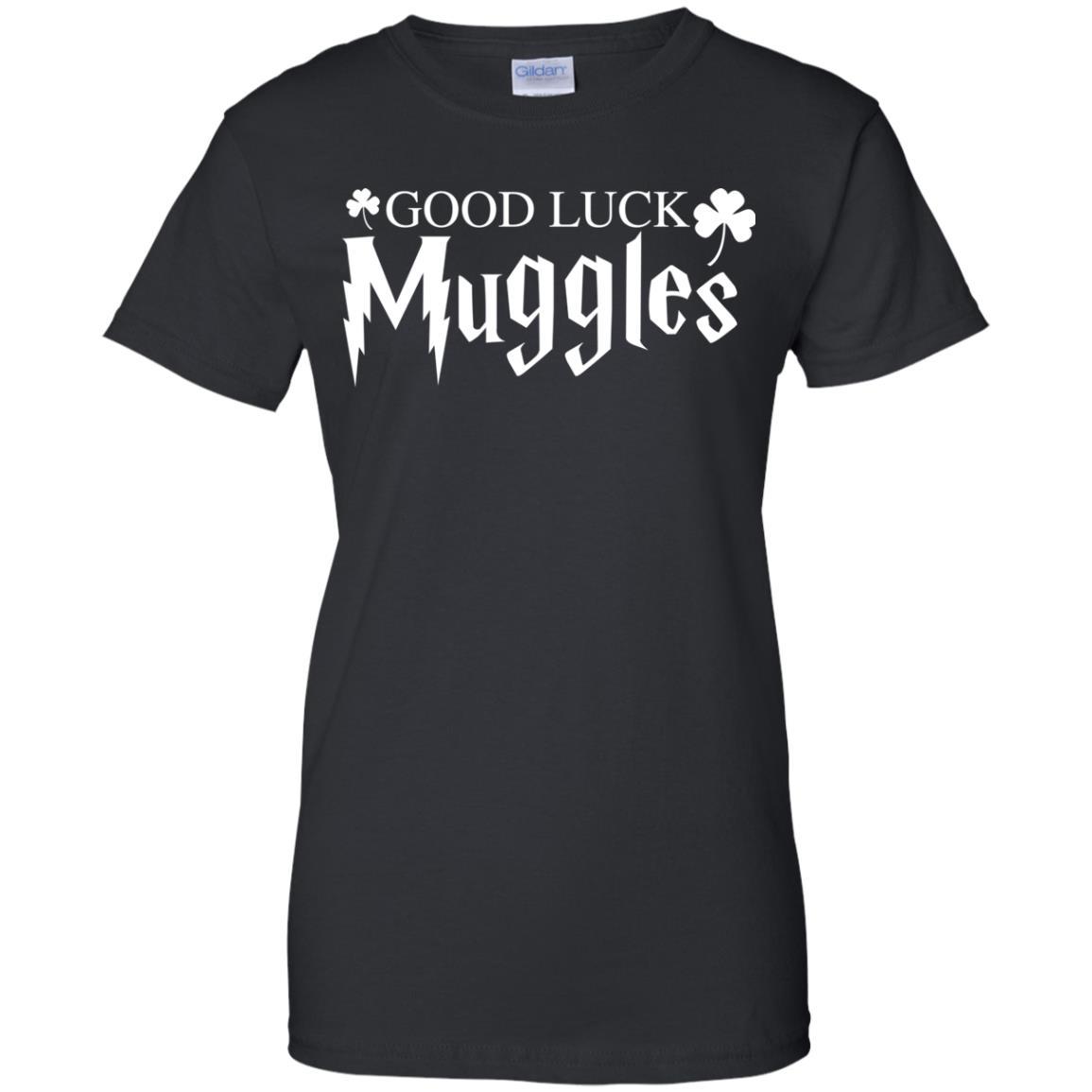 image 26px Good Luck Muggles T Shirts