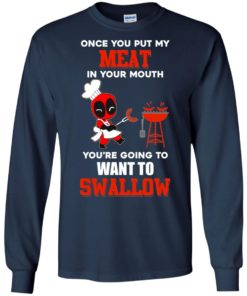 image 310 247x296px Deadpool: Once you put my meat in your mouth t shirt, hoodies, tank top