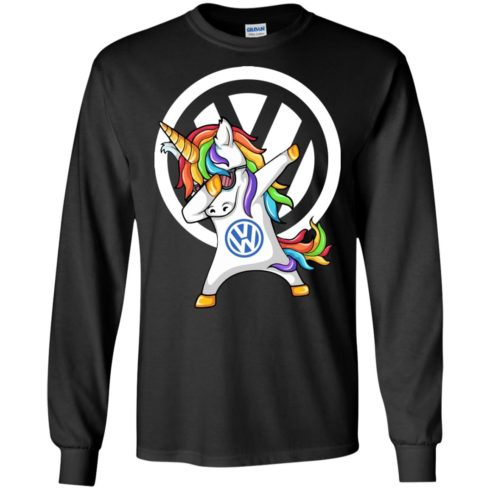 image 356 490x490px Speed Addict VW Unicorn Dabbing T Shirts, Hoodies, Tank Top
