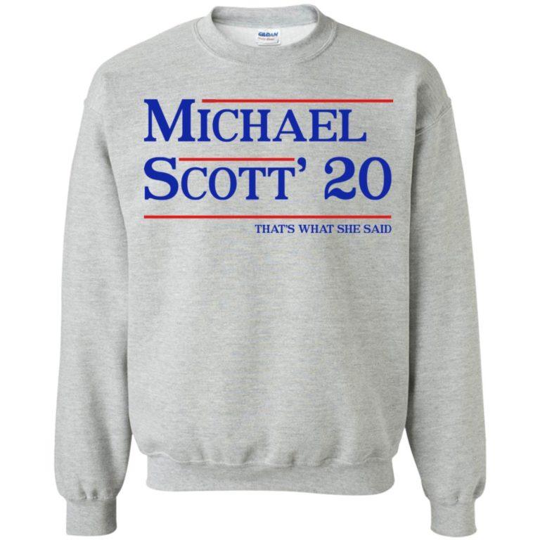 image 371 768x768px Michael Scott 20 That's What She Said T Shirts, Hoodies, Tank Top