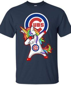 image 376 247x296px Chicago Cubs Unicorn Dabbing T Shirts, Hoodies, Tank Top