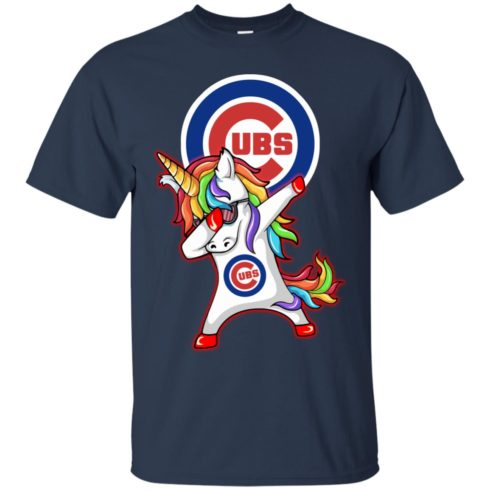 image 376 490x490px Chicago Cubs Unicorn Dabbing T Shirts, Hoodies, Tank Top