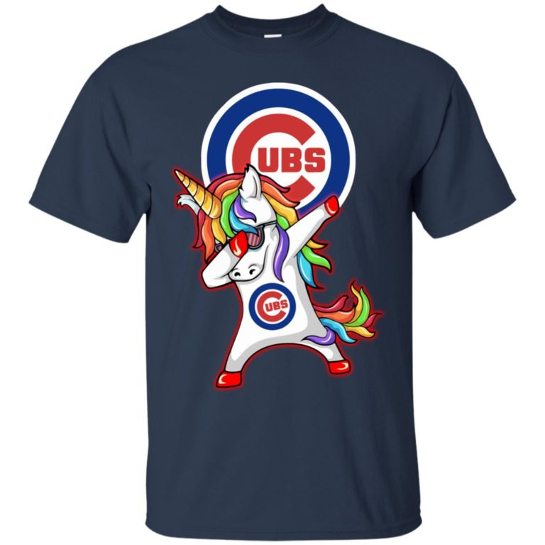 image 376 768x768px Chicago Cubs Unicorn Dabbing T Shirts, Hoodies, Tank Top