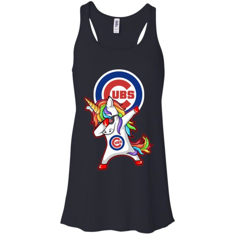 image 378 768x768px Chicago Cubs Unicorn Dabbing T Shirts, Hoodies, Tank Top
